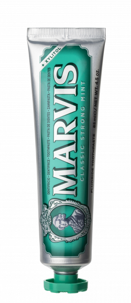 MARVIS Classic Strong Mint fluoridos fogkrém, 85 ml